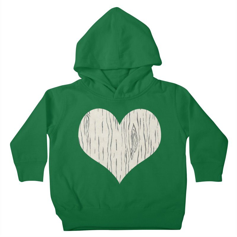 Heart of Birch Kids Toddler Pullover Hoody by FashionedbyNature's Artist Shop
