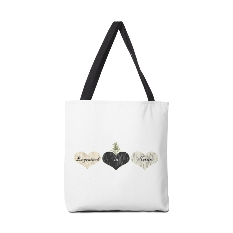 Engrained in Nature Accessories Tote Bag Bag by FashionedbyNature's Artist Shop