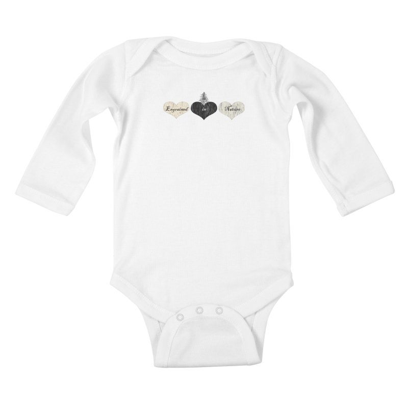 Engrained in Nature Kids Baby Longsleeve Bodysuit by FashionedbyNature's Artist Shop