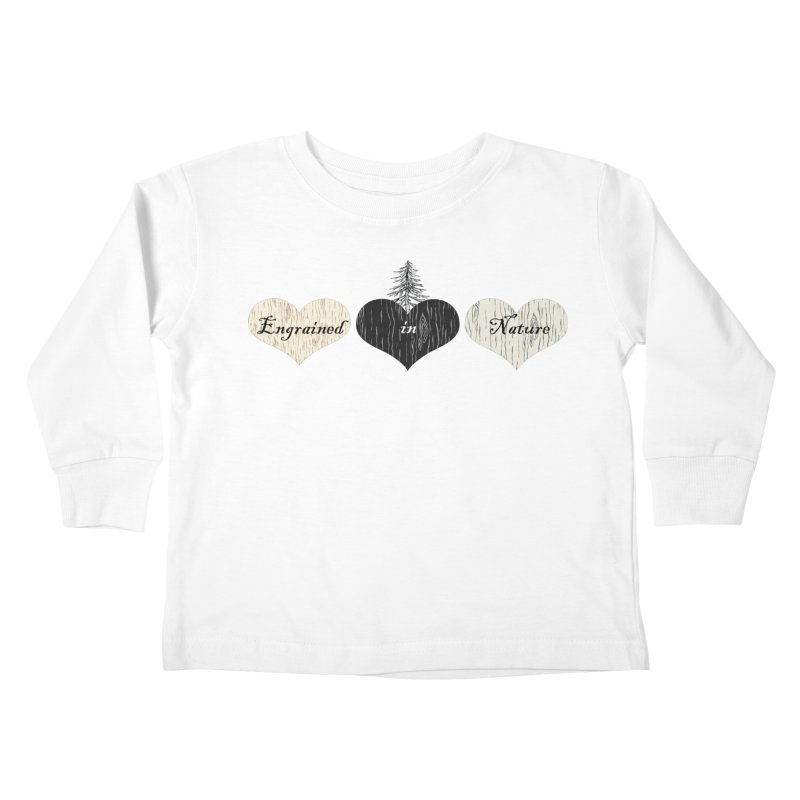 Engrained in Nature Kids Toddler Longsleeve T-Shirt by FashionedbyNature's Artist Shop