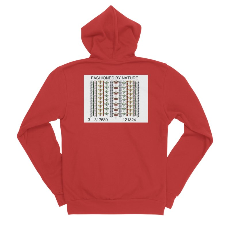 Bug Barcode Men's Zip-Up Hoody by FashionedbyNature's Artist Shop