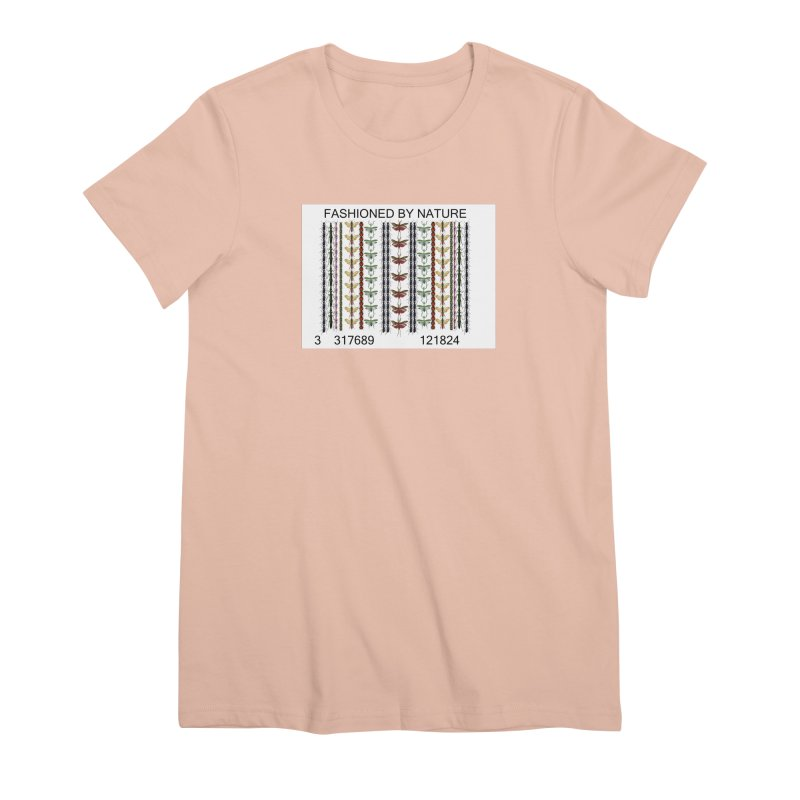 Bug Barcode Women's Premium T-Shirt by FashionedbyNature's Artist Shop
