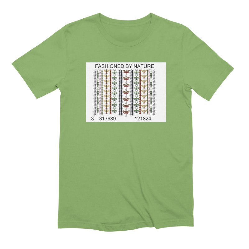 Bug Barcode Men's Extra Soft T-Shirt by FashionedbyNature's Artist Shop