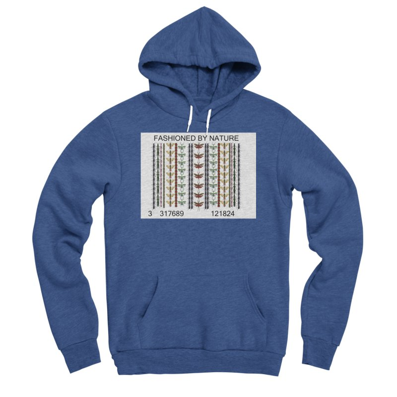 Bug Barcode Men's Sponge Fleece Pullover Hoody by FashionedbyNature's Artist Shop