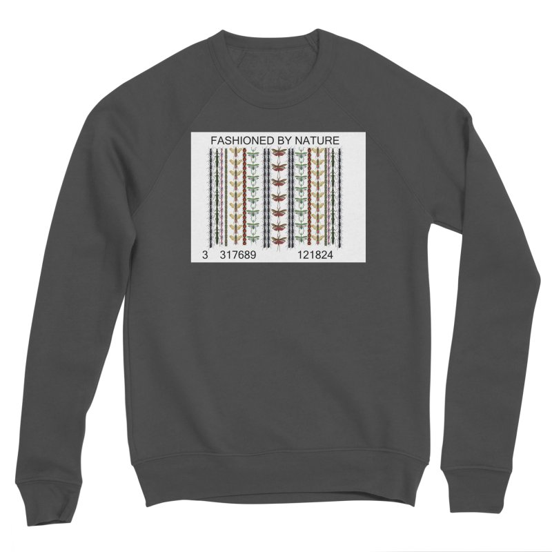 Bug Barcode Women's Sponge Fleece Sweatshirt by FashionedbyNature's Artist Shop
