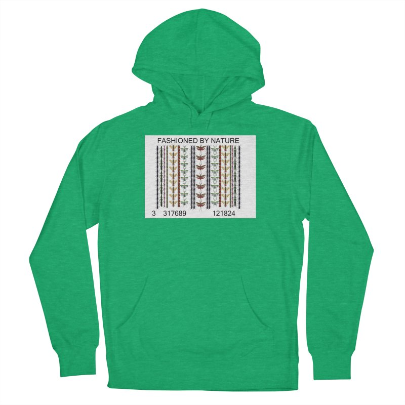 Bug Barcode Women's French Terry Pullover Hoody by FashionedbyNature's Artist Shop