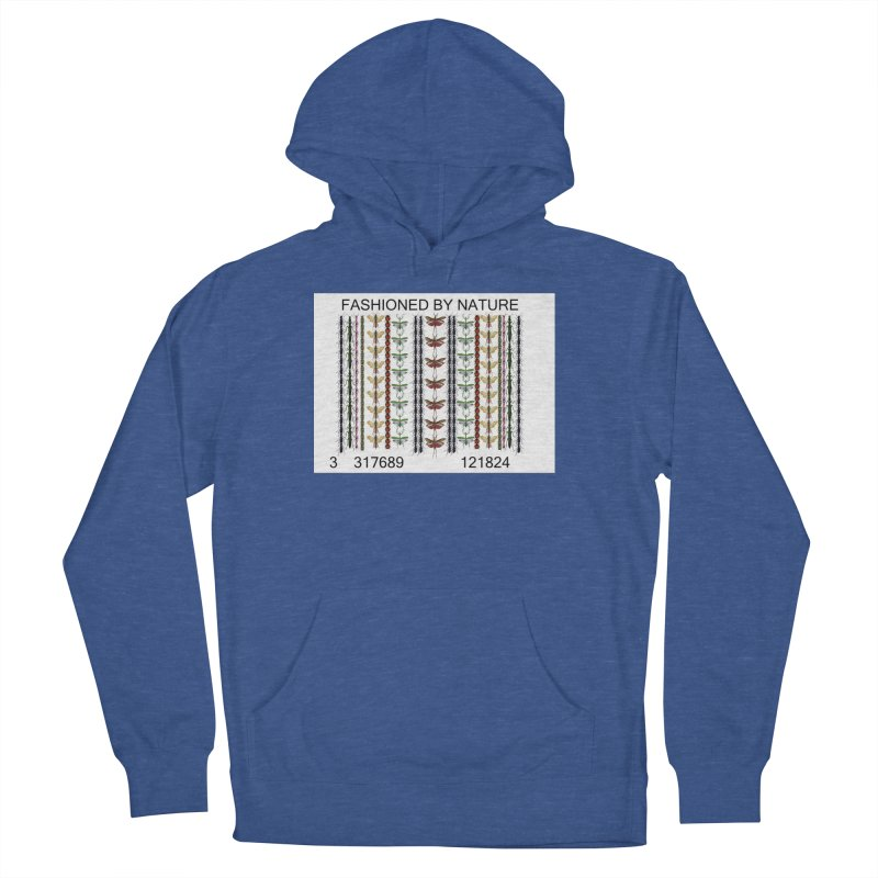 Bug Barcode Men's French Terry Pullover Hoody by FashionedbyNature's Artist Shop