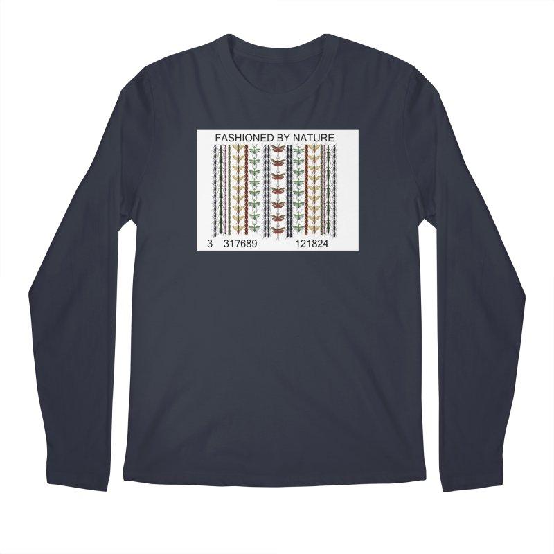 Bug Barcode Men's Regular Longsleeve T-Shirt by FashionedbyNature's Artist Shop