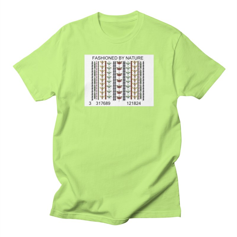 Bug Barcode Women's Regular Unisex T-Shirt by FashionedbyNature's Artist Shop