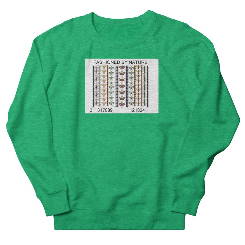 Bug Barcode Women's Sweatshirt by All Fashioned by Nature Artist Shop