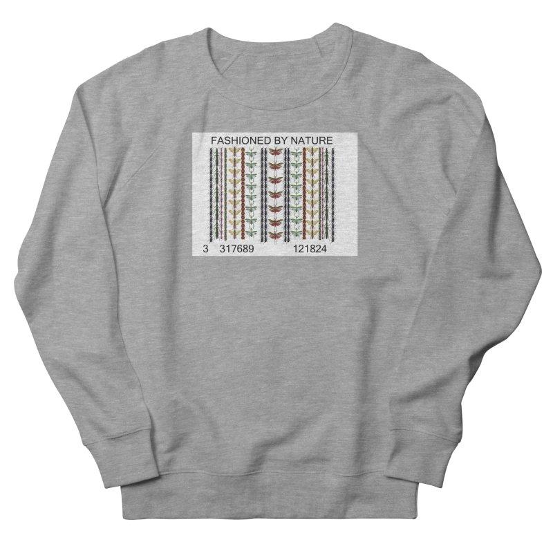 Bug Barcode Women's French Terry Sweatshirt by FashionedbyNature's Artist Shop