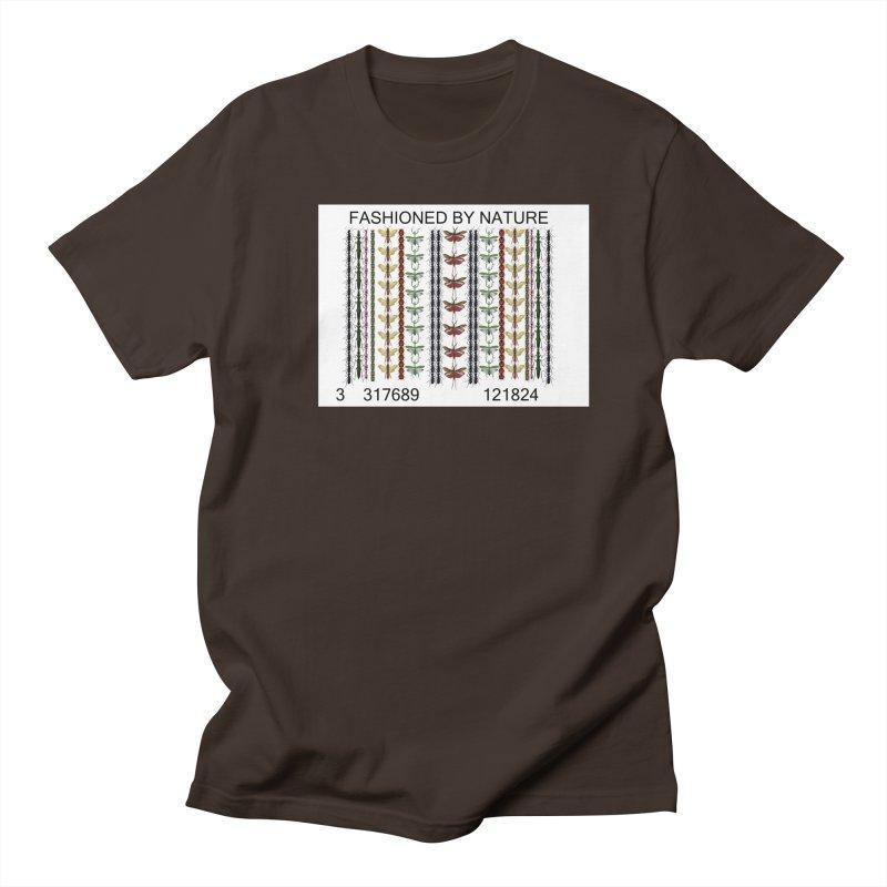 Bug Barcode Men's Regular T-Shirt by FashionedbyNature's Artist Shop
