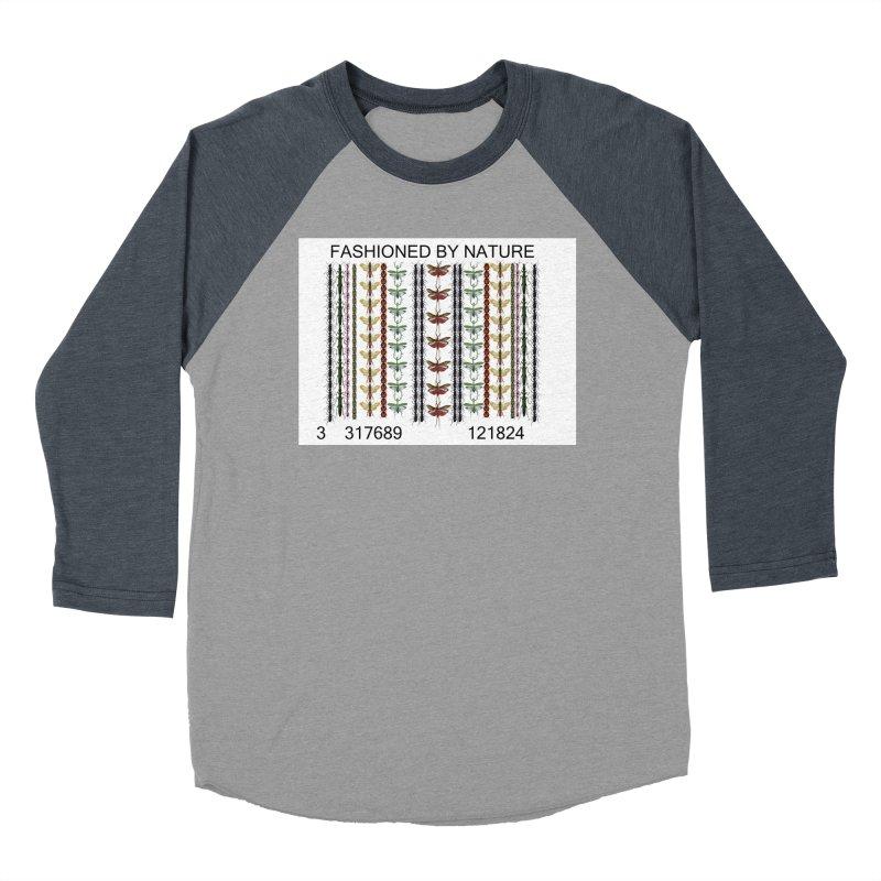 Bug Barcode Men's Baseball Triblend Longsleeve T-Shirt by FashionedbyNature's Artist Shop