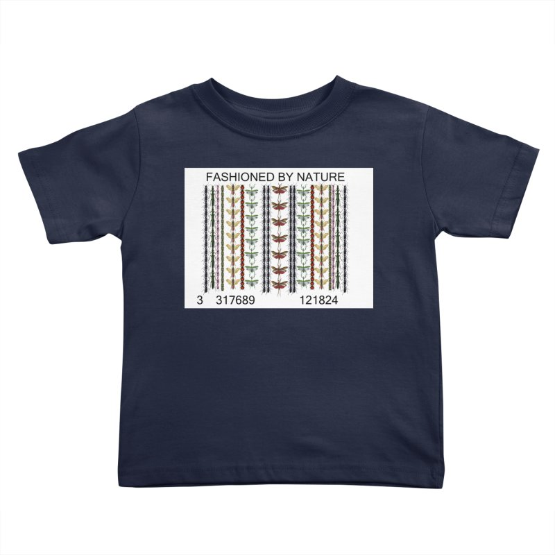 Bug Barcode Kids Toddler T-Shirt by FashionedbyNature's Artist Shop