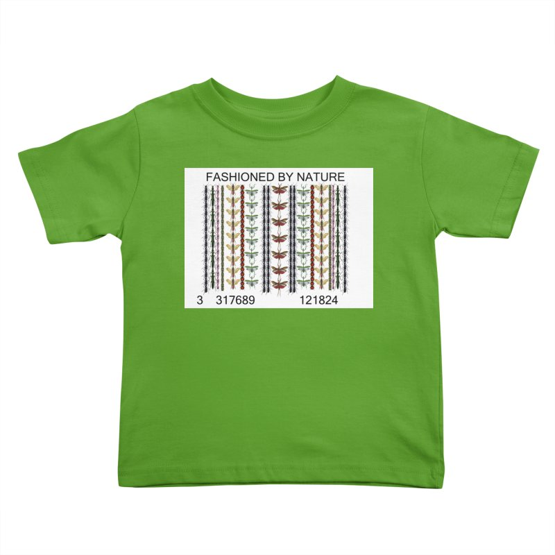 Bug Barcode Kids Toddler T-Shirt by All Fashioned by Nature Artist Shop
