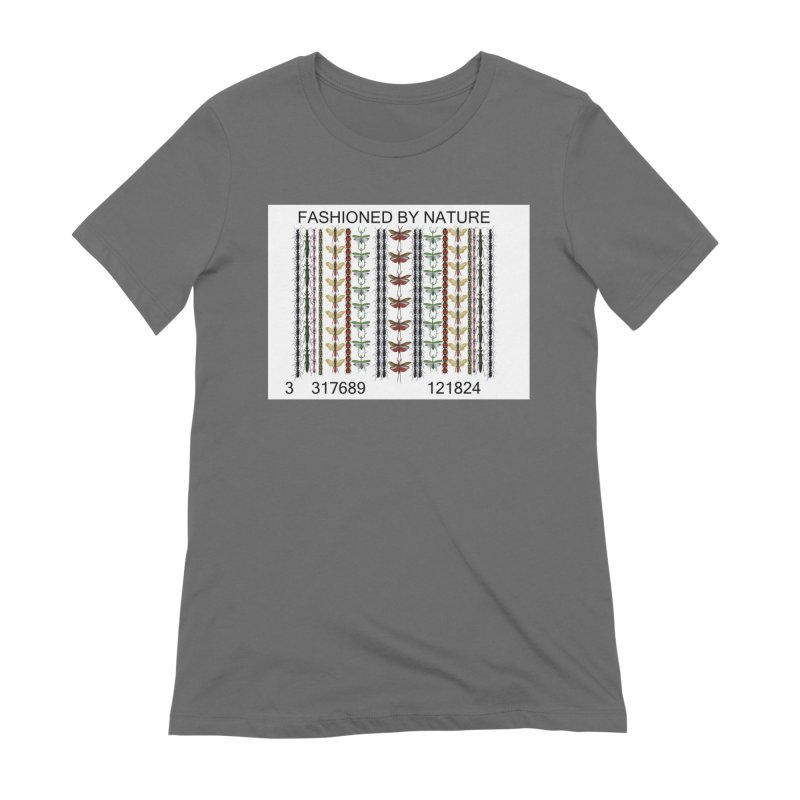 Bug Barcode Women's T-Shirt by All Fashioned by Nature Artist Shop