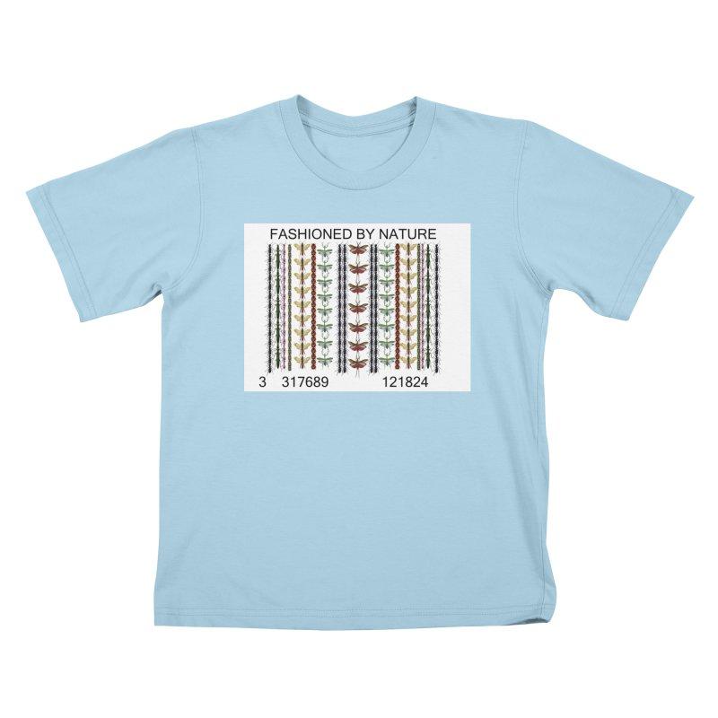 Bug Barcode Kids T-Shirt by FashionedbyNature's Artist Shop