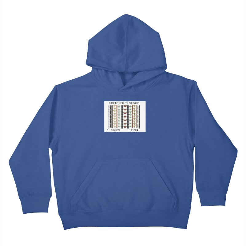 Bug Barcode Kids Pullover Hoody by All Fashioned by Nature Artist Shop