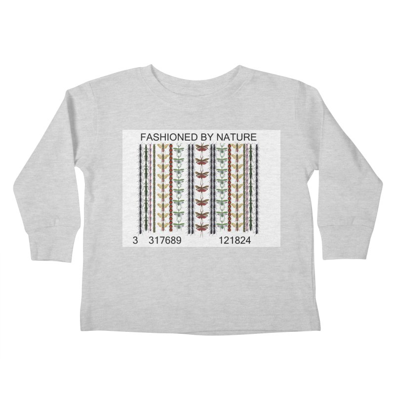 Bug Barcode Kids Toddler Longsleeve T-Shirt by FashionedbyNature's Artist Shop