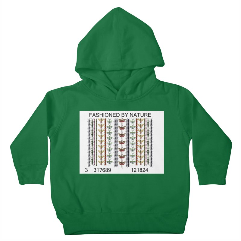 Bug Barcode Kids Toddler Pullover Hoody by FashionedbyNature's Artist Shop