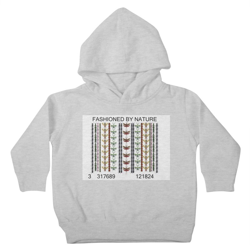 Bug Barcode Kids Toddler Pullover Hoody by All Fashioned by Nature Artist Shop