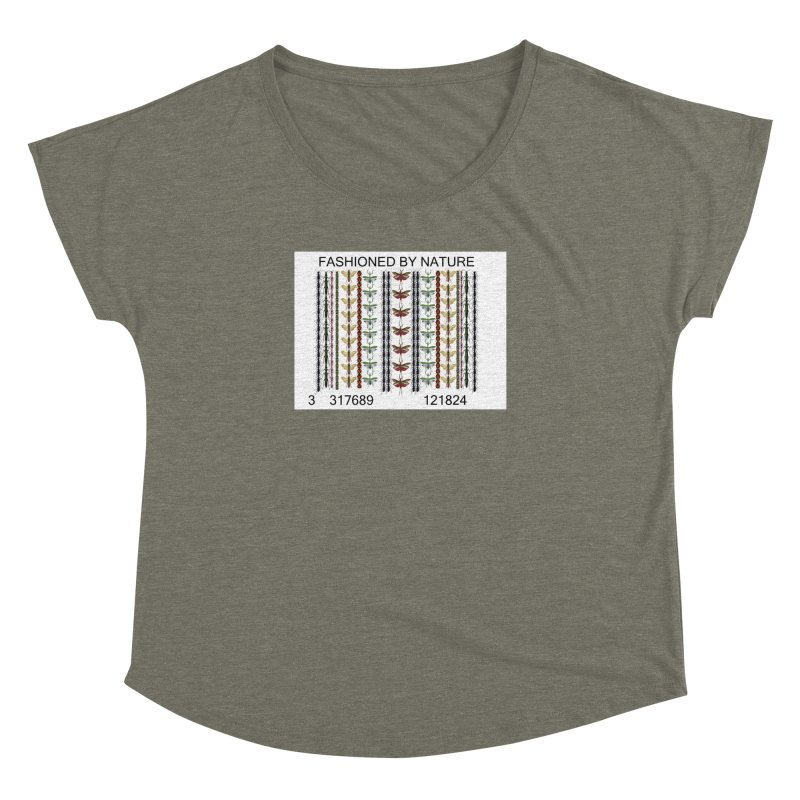 Bug Barcode Women's Dolman Scoop Neck by FashionedbyNature's Artist Shop