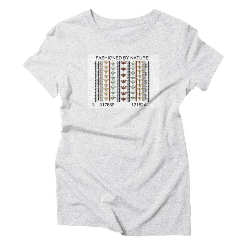 Bug Barcode Women's Triblend T-Shirt by FashionedbyNature's Artist Shop