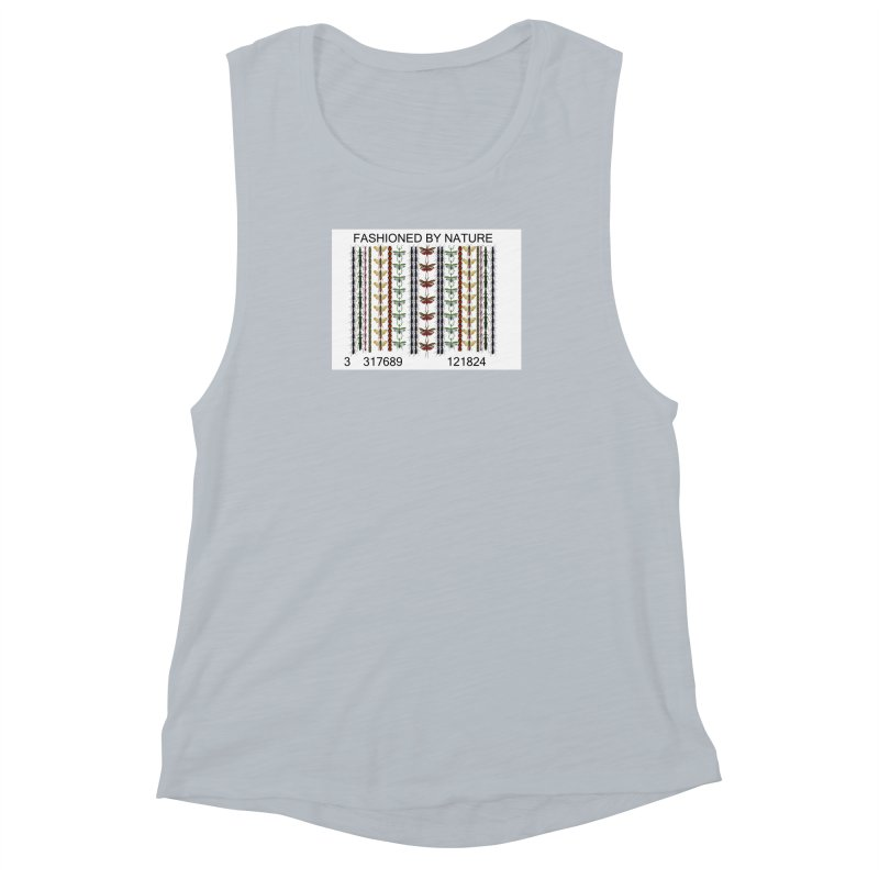 Bug Barcode Women's Muscle Tank by FashionedbyNature's Artist Shop