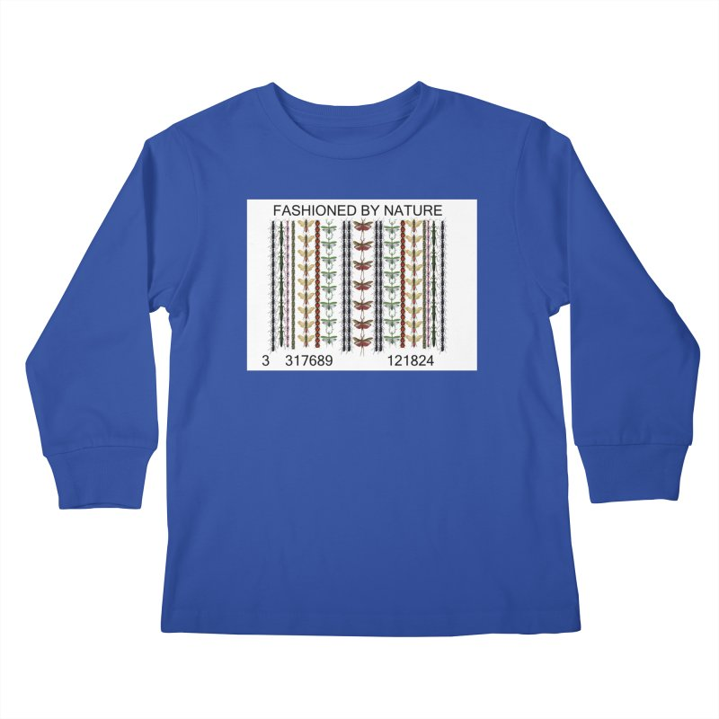 Bug Barcode Kids Longsleeve T-Shirt by FashionedbyNature's Artist Shop