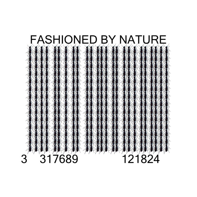 Ant Barcode Women's V-Neck by All Fashioned by Nature Artist Shop