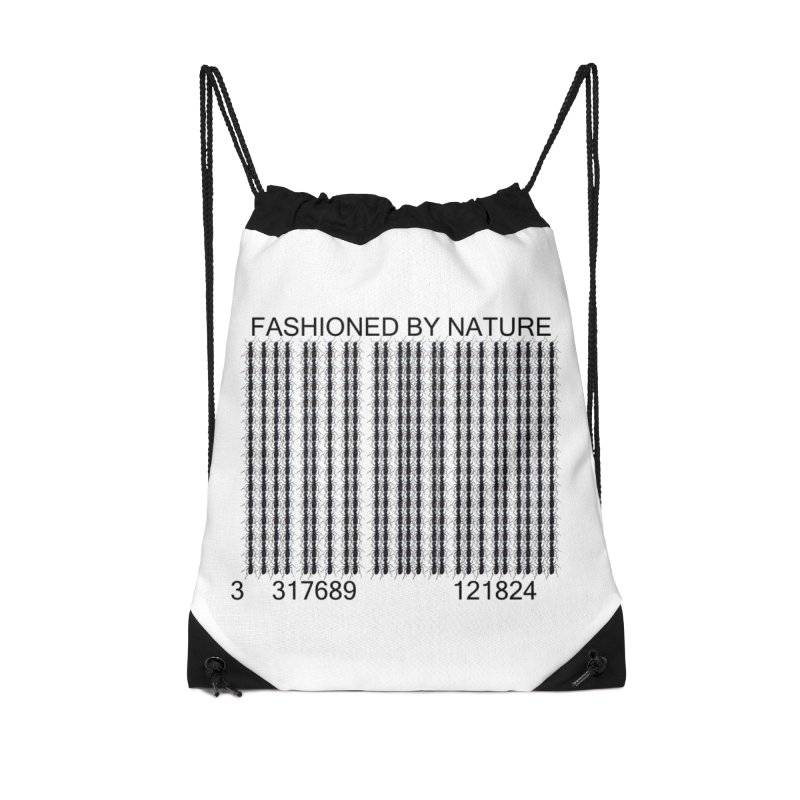 Ant Barcode Accessories Drawstring Bag Bag by FashionedbyNature's Artist Shop