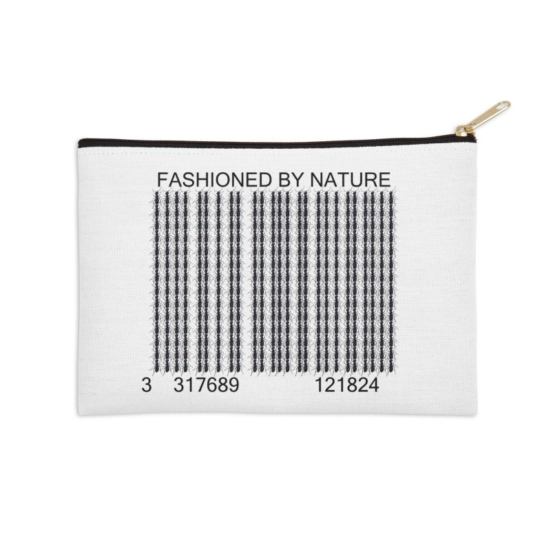 Ant Barcode Accessories Zip Pouch by FashionedbyNature's Artist Shop