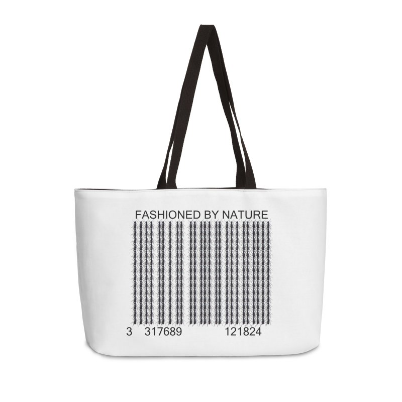 Ant Barcode Accessories Weekender Bag Bag by FashionedbyNature's Artist Shop