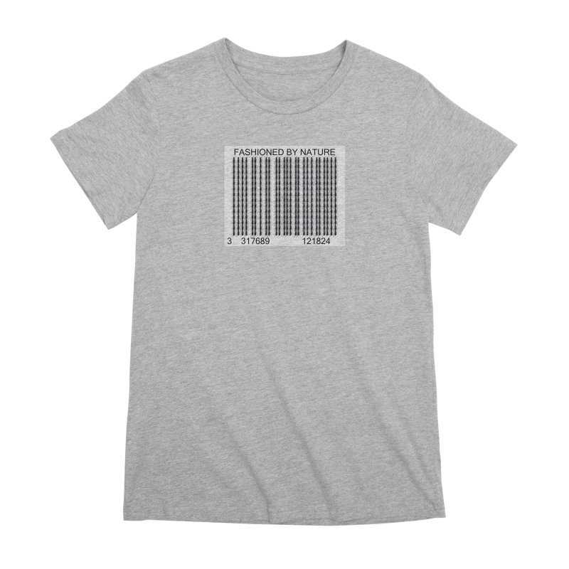 Ant Barcode Women's Premium T-Shirt by FashionedbyNature's Artist Shop
