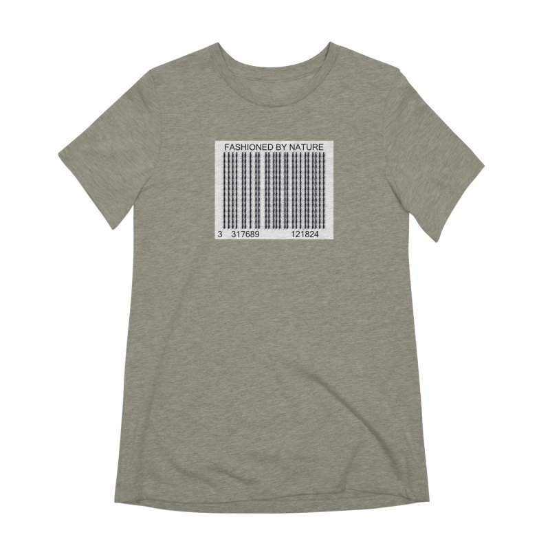 Ant Barcode Women's Extra Soft T-Shirt by FashionedbyNature's Artist Shop