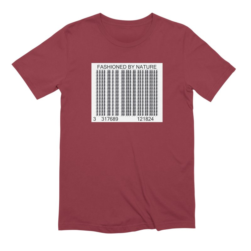 Ant Barcode Men's Extra Soft T-Shirt by FashionedbyNature's Artist Shop