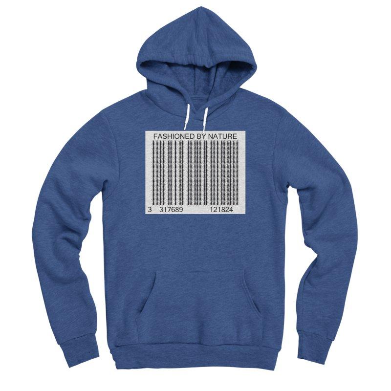 Ant Barcode Men's Sponge Fleece Pullover Hoody by FashionedbyNature's Artist Shop