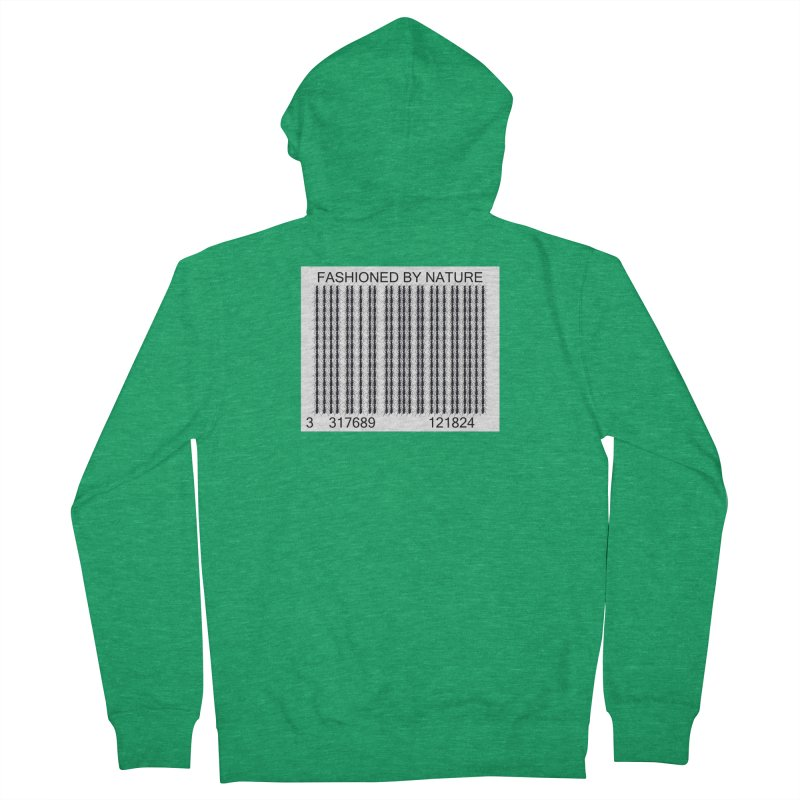 Ant Barcode Women's Zip-Up Hoody by FashionedbyNature's Artist Shop