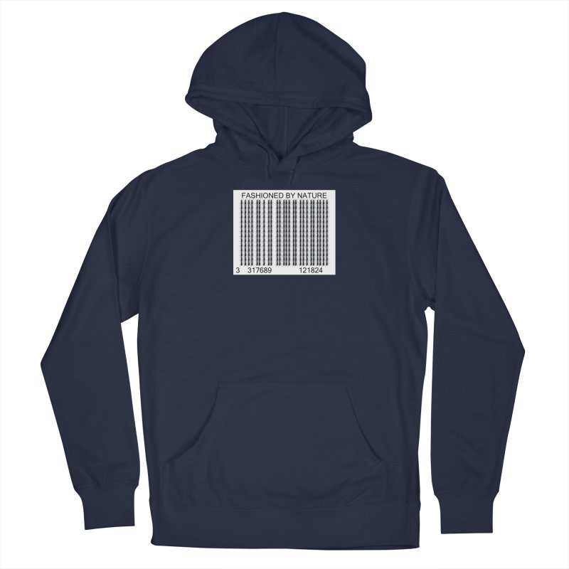 Ant Barcode Men's Pullover Hoody by All Fashioned by Nature Artist Shop