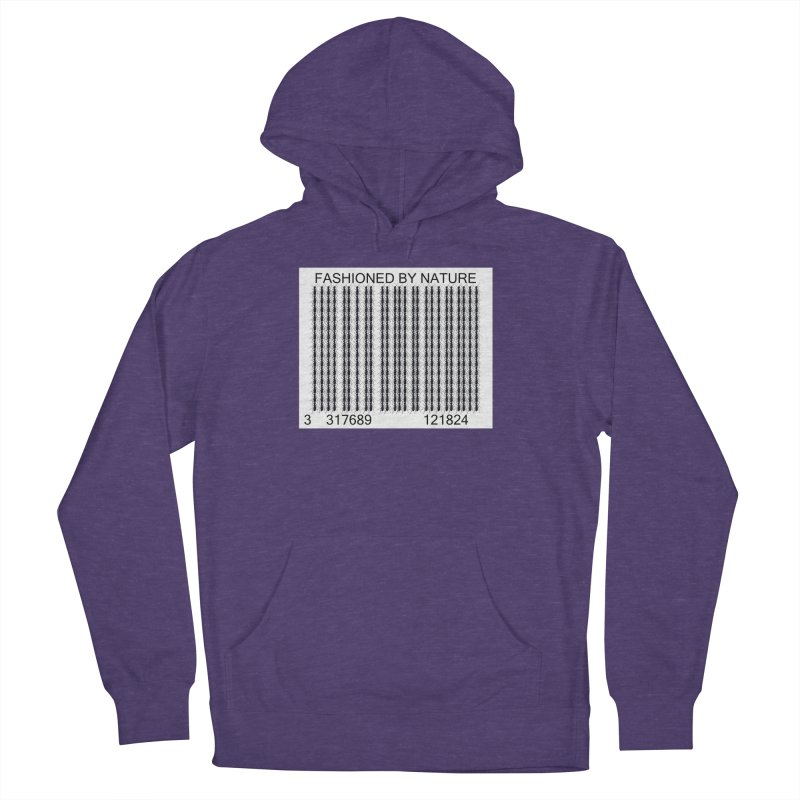 Ant Barcode Women's French Terry Pullover Hoody by FashionedbyNature's Artist Shop