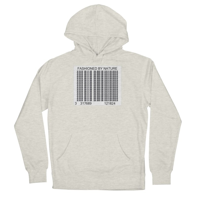 Ant Barcode Men's French Terry Pullover Hoody by FashionedbyNature's Artist Shop
