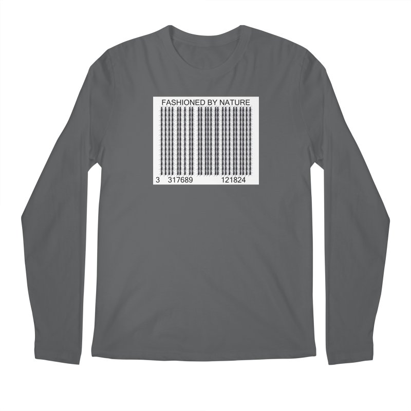 Ant Barcode Men's Longsleeve T-Shirt by All Fashioned by Nature Artist Shop