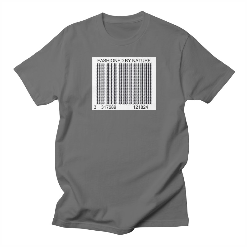 Ant Barcode Men's T-Shirt by All Fashioned by Nature Artist Shop