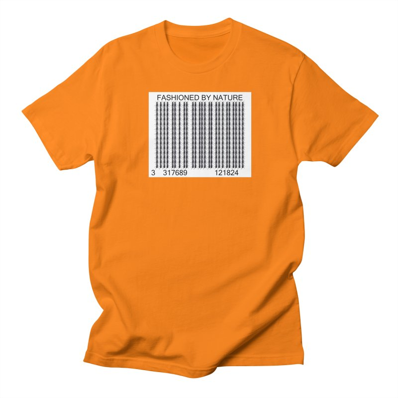Ant Barcode Men's Regular T-Shirt by FashionedbyNature's Artist Shop