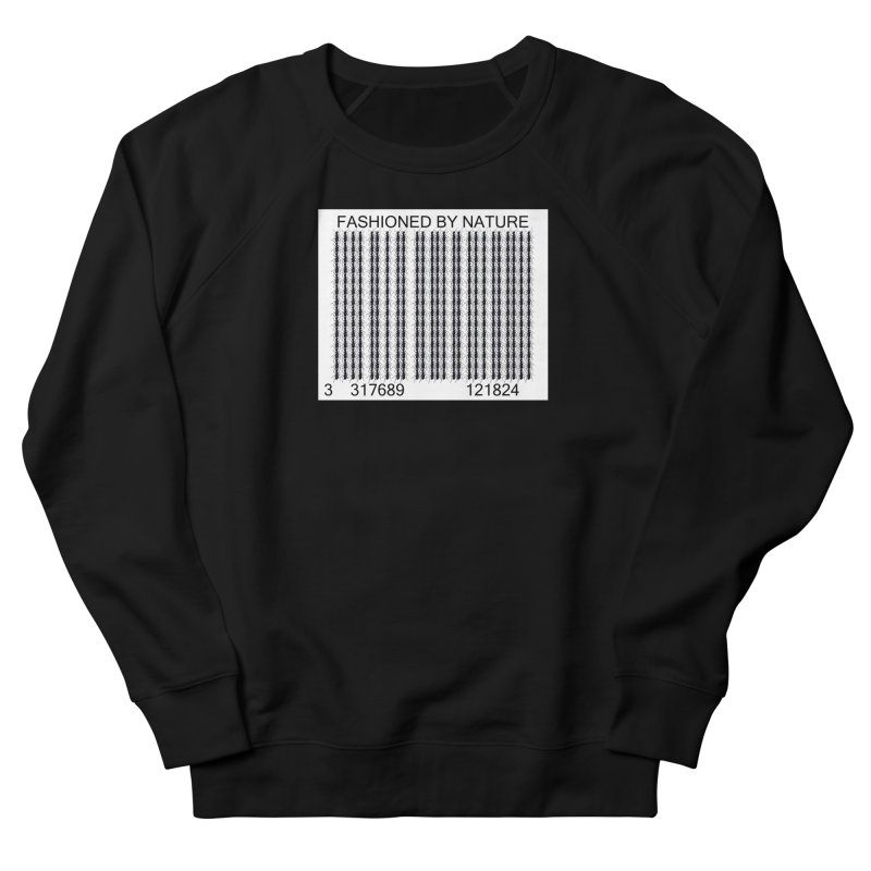 Ant Barcode Men's French Terry Sweatshirt by FashionedbyNature's Artist Shop
