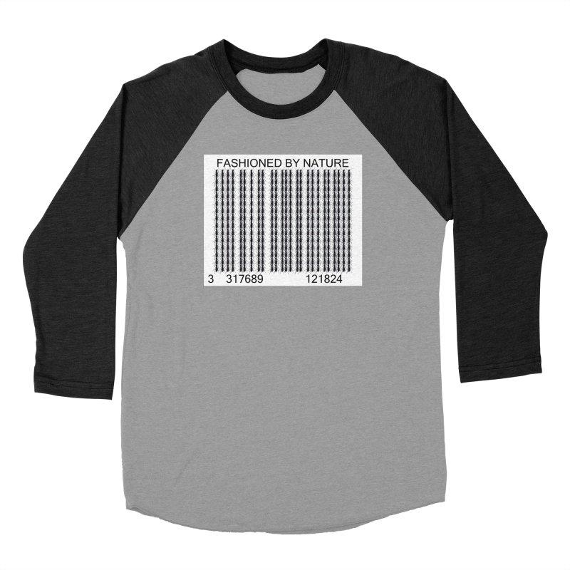 Ant Barcode Men's Baseball Triblend Longsleeve T-Shirt by FashionedbyNature's Artist Shop