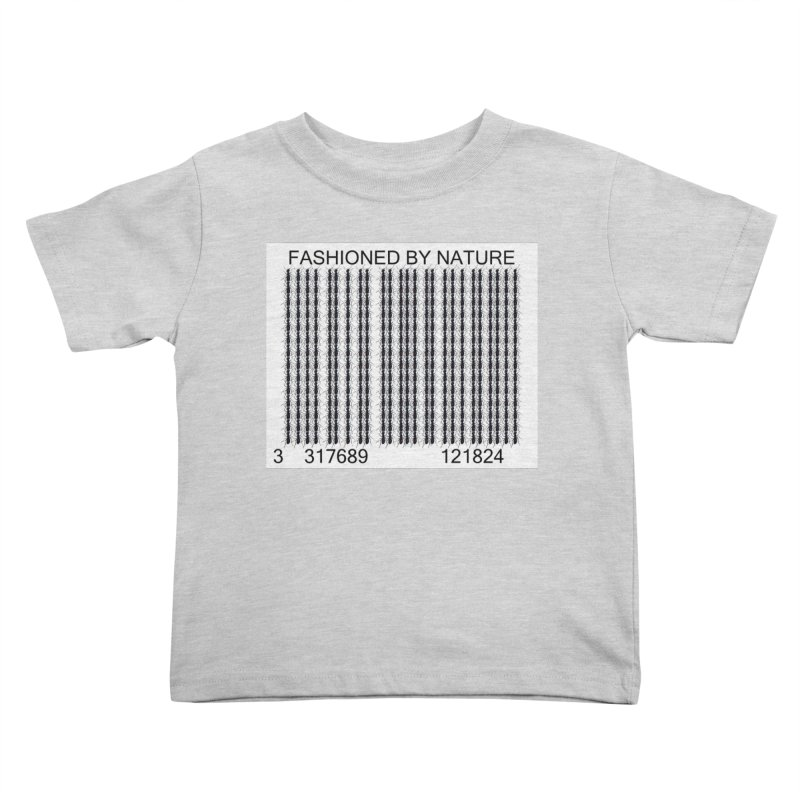 Ant Barcode Kids Toddler T-Shirt by FashionedbyNature's Artist Shop