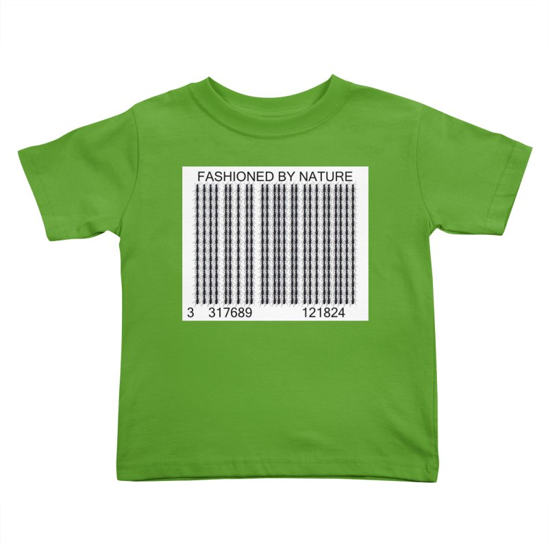 Ant Barcode Kids Toddler T-Shirt by All Fashioned by Nature Artist Shop