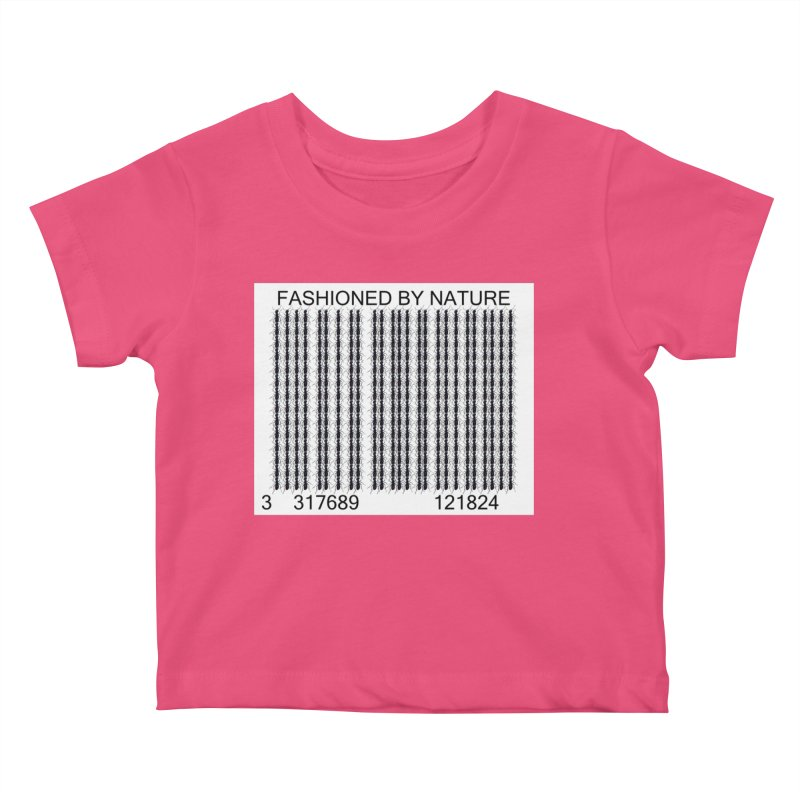 Ant Barcode Kids Baby T-Shirt by FashionedbyNature's Artist Shop
