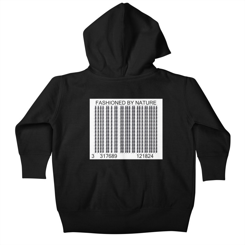 Ant Barcode Kids Baby Zip-Up Hoody by FashionedbyNature's Artist Shop